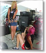 Punks Play Metal Print