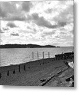 Purdy Beach Metal Print