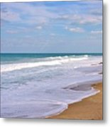 Pure Beach Metal Print