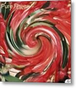 Pure Flower Metal Print