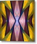 Pure Gold Lincoln Park Wood Pavilion N89 V1 Metal Print