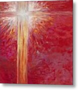 Pure Light Metal Print