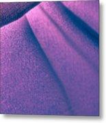 Purple And Bold Metal Print
