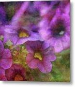 Purple And Yellow Morning 9121 Idp_2 Metal Print