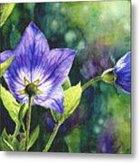 Purple Bell Flower Metal Print
