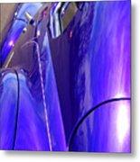 Purple Chevrolet Metal Print