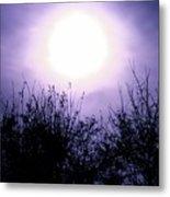 Purple Eclipse Metal Print