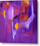 Purple Enclosure Metal Print