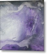 Purple Explosion By Madart Metal Print