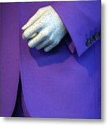 Purple Hand Purple Hand Metal Print