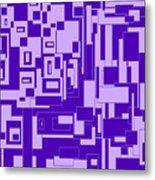 Purple Hues Metal Print