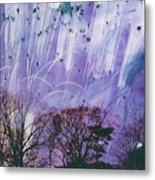 Purple Is The Color Of My True Love's Air Metal Print