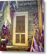 Purple Key West Metal Print