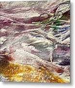 Purple Land Metal Print