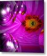 Purple Magic Metal Print