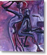 Purple Mood Metal Print