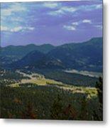 Purple Mountain's Majesty Metal Print