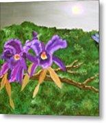Purple Passion Metal Print by Alanna Hug-McAnnally