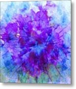 Purple Passion Hydrangea  Metal Print