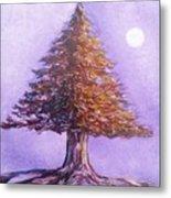 Purple Pine  Metal Print