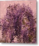 Purple Pleasures Metal Print