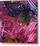 Purple Power Metal Print