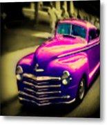 Purple Ride Metal Print