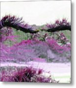 Purple Sensation Metal Print