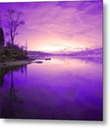 Purple Skies Metal Print