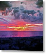 Purple Sky Metal Print