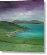 Purple Sky Over Donegal Metal Print