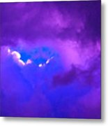 Purple Storm Metal Print