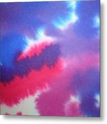 Purple Wisp Metal Print