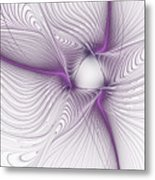 Purplish Metal Print