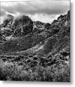 Pusch Ridge Snow No10 Metal Print