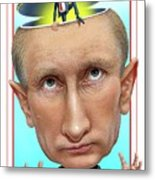 Putin 2016 Metal Print