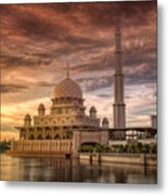 Putrajaya Beauty At Dusk Metal Print