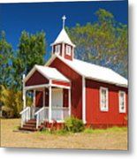 Pu'uanahulu Baptist Church - Pu'uanahulu Metal Print