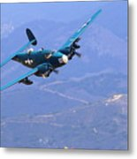 Pv-2 Harpoon At Salinas Metal Print