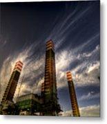 Pylons Metal Print