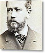 Pyotr Ilyich Tchaikovsky, Russian Metal Print