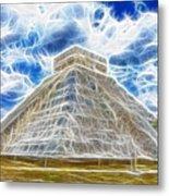 Pyramid Of The Maya  Metal Print