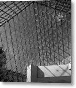Pyramide Du Louvre Metal Print