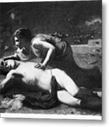 Pyramus And Thisbe Metal Print