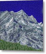 Pyrenees Astazous Mountain Metal Print