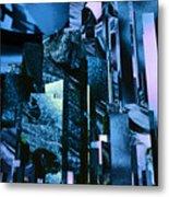 Q-city Six Metal Print
