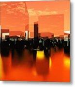 Q-city Zero Metal Print