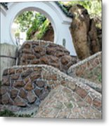 Qingdao Moon Gate Metal Print