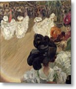Quadrille At The Bal Tabarin Metal Print