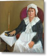 Quaker Lady Metal Print